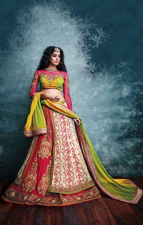 lehenga sarees draping styles lehenga dupatta draping styles pretty combination with