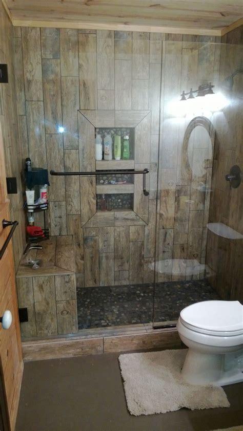 rustic shower bathroom showers rustic