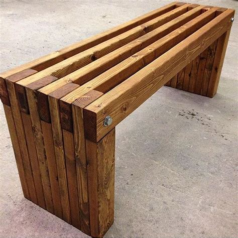 simple garden bench 1 669 likes 17 comments trades directory trades