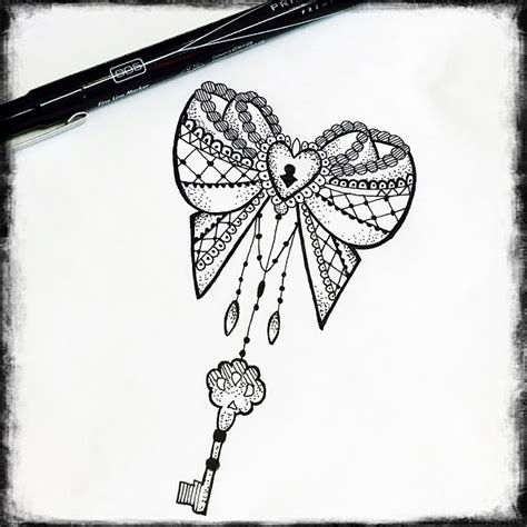 lock up meaning design bow heart lock key tattoo design mandala art mehndi