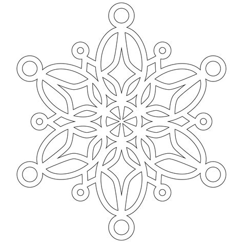 Snowflake Mandala Coloring Pages don t eat the paste a half dozen snowflakes to color