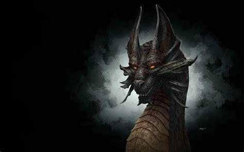 black dragon cave dragon head wallpapers wallpaper cave