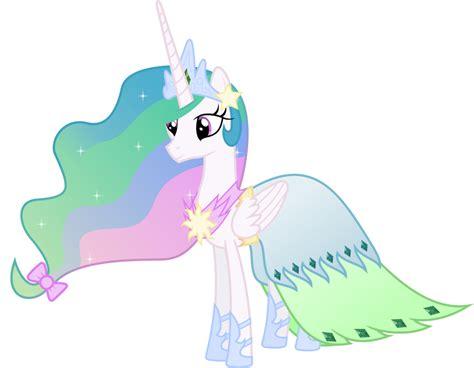 Pony Dress my pony clipart princess celestia in a dress