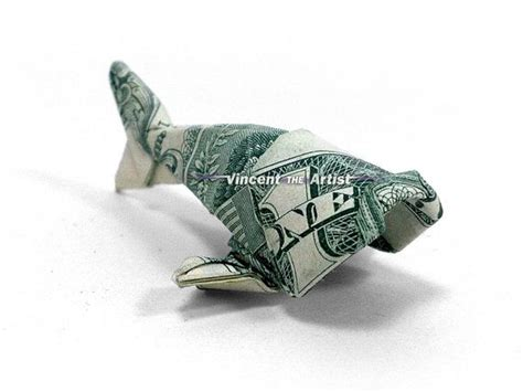 Origami Money Fish - baby fish dollar origami money dollar origami
