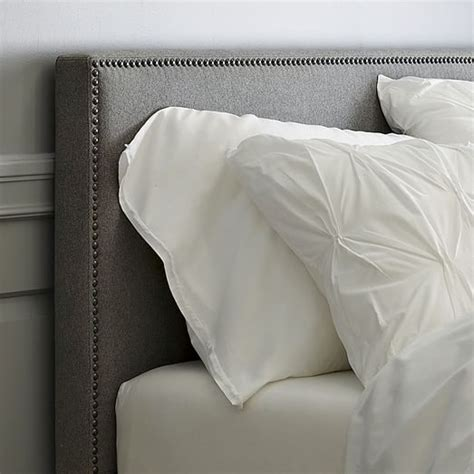West Elm Headboard by Nailhead Upholstered Headboard West Elm