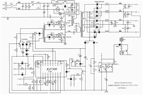 atx 450w smps circuit diagram luxury atx 450w smps circuit diagram photo electrical