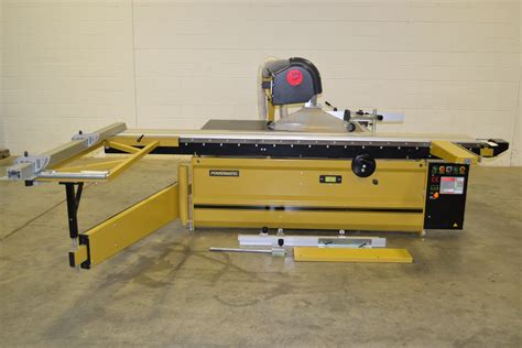 powermatic table saw powermatic hsp 126 7 5hp sliding table panel saw