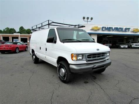 how petrol cars work 2001 ford econoline e350 on board diagnostic system purchase used 2001 ford econoline cargo van utilty work vans automatic v6 gas saver fords in