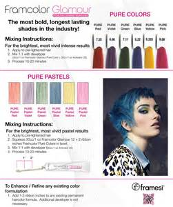framesi color chart framesi hair color hairstylegalleries