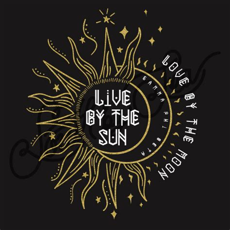 live by the sun love by the moon tattoo design id 10484 south by sea
