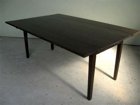 Black Drop Leaf Table Black Wash Drop Leaf Farm Table Ecustomfinishes