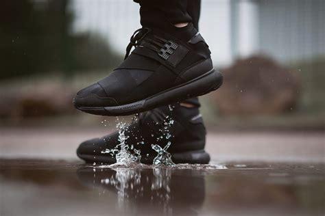 Premium Adidas Y3 Qasa High Black White 1 y 3 qasa high quot black quot fall 2015 sneakers addict