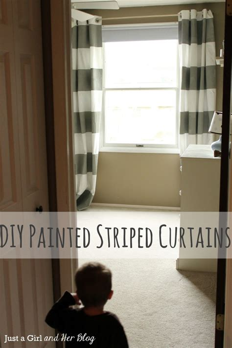 diy painted curtains i wanna play too diy painted striped curtains