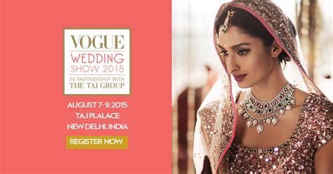 Vogue Wedding Show Invite