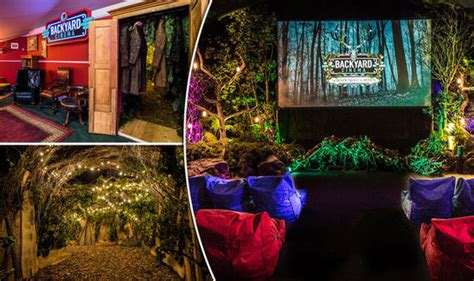 backyard cinema backyard cinema s enchanted forest showing frozen at