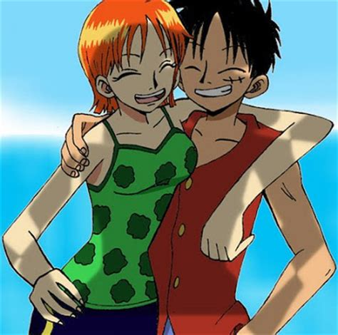 luffy and nami one shanks and luffy images