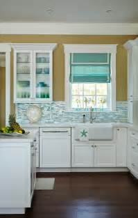Beach house kitchen with turquoise decor home bunch interior