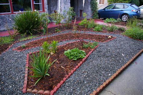 backyard gravel gravel garden yard pinterest