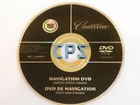 Cadillac Escalade Navigation Disc 2007 2008 Cadillac Escalade Esv Ext Navigation System Dvd