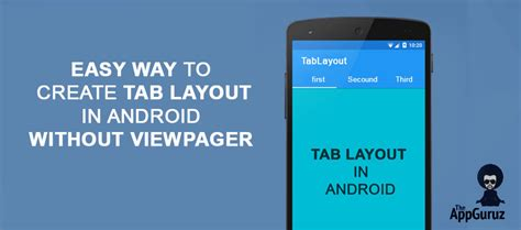 create layout in code android create tab layout in android without viewpager