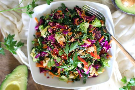 Carrot And Cabbage Detox Salad by Feel Amazing Detox Kale Salad Huffpost