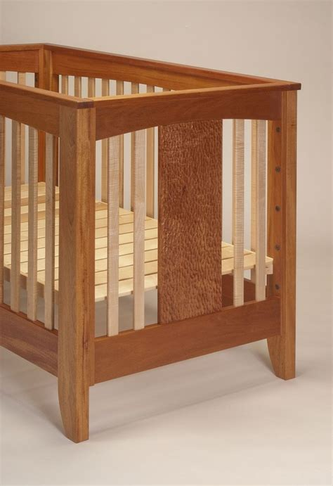 wooden baby crib plans woodworking projects plans