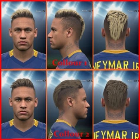 Hair Style Kit Cyty by Ultigamerz Pes 2016 Neymar Jr New Pack With New Hair