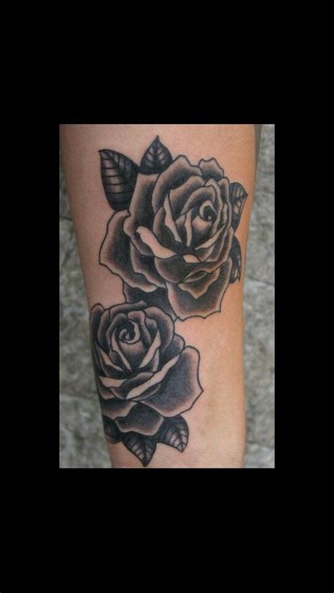 black roses tattoos pinterest black roses tattoo