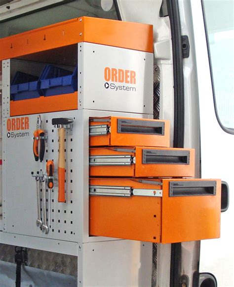 cassettiere per furgoni cassettiera laterale per furgoni order system