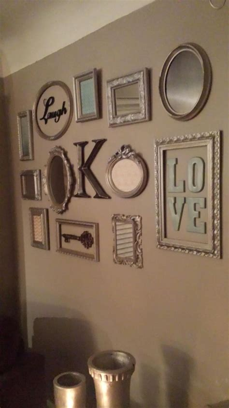 best 25 picture frame walls ideas on