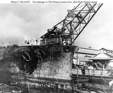 boat salvage yards arkansas uss pennsylvania cassin and downes during the pearl