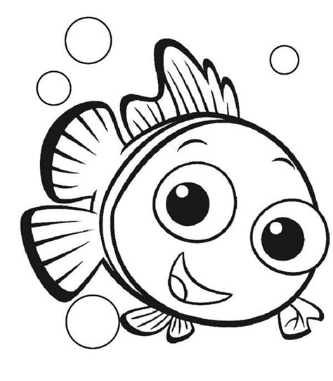 printable coloring pages nemo free fish coloring sheet nemo cherieballog