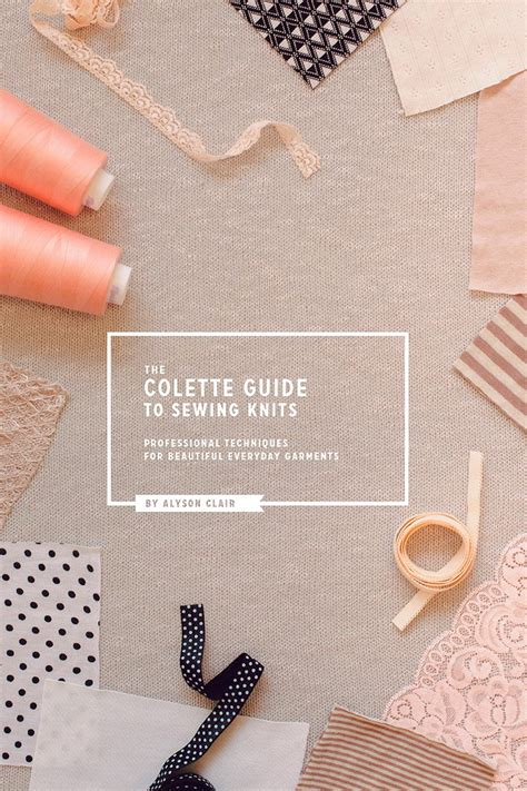 serging knits the colette guide to sewing knits