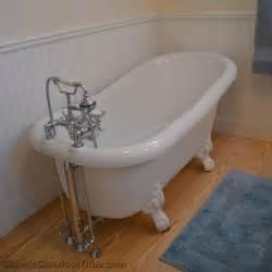 60 quot acrylic slipper clawfoot tub classic clawfoot tub