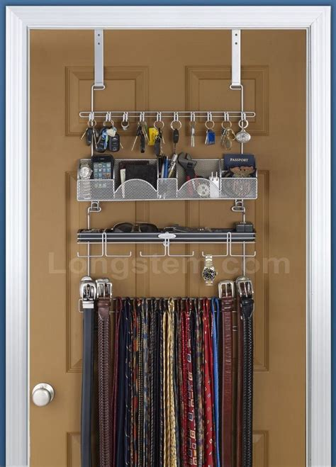 mens closet small space organizing