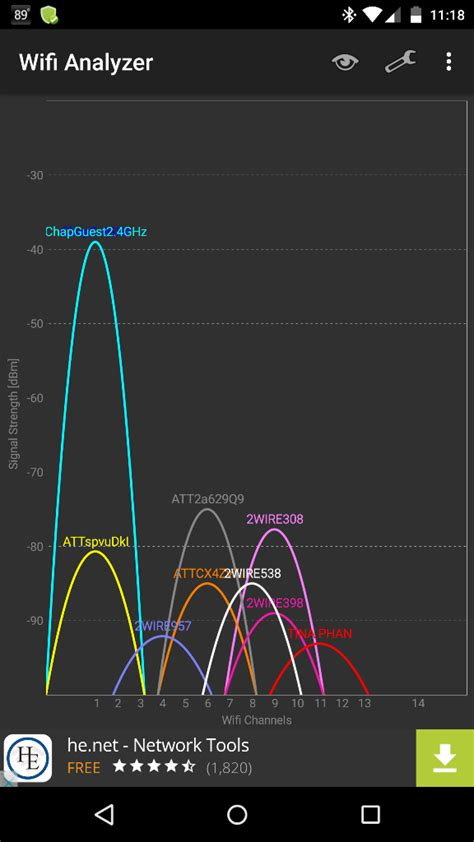 wifi analyzer android wifi analyzer android app helps you identify optimal channels for your wireless router to