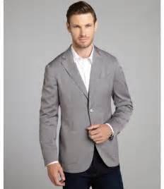Grey Blazer Grey Blazer Canali Light Grey Stretch Wool Lightweight