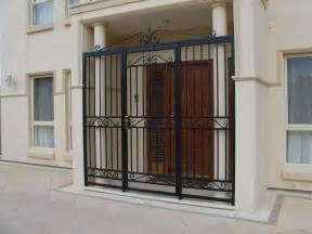Front Door Gate Designs Front Door Gate Designs Wrought Iron Security Doors Image Of Home Design Inspiration