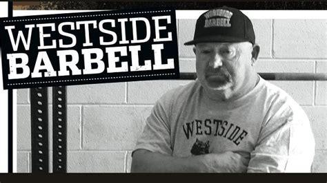 westside barbell bench westside barbell strength conditioning pinterest