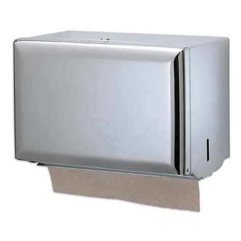 Single Fold Paper Towel Dispenser - san jamar t1800xc single fold chrome towel dispenser