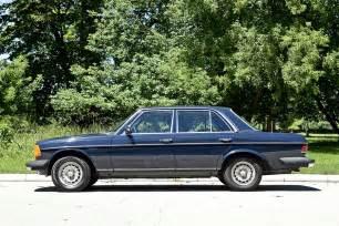 1984 Mercedes 300d Turbo Diesel 1984 Mercedes 300d Turbo Diesel Shiny Side
