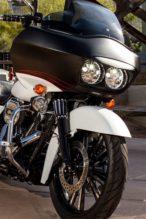 led lights for harley davidson ultra vision x lighting introduces ultra bright led headlights