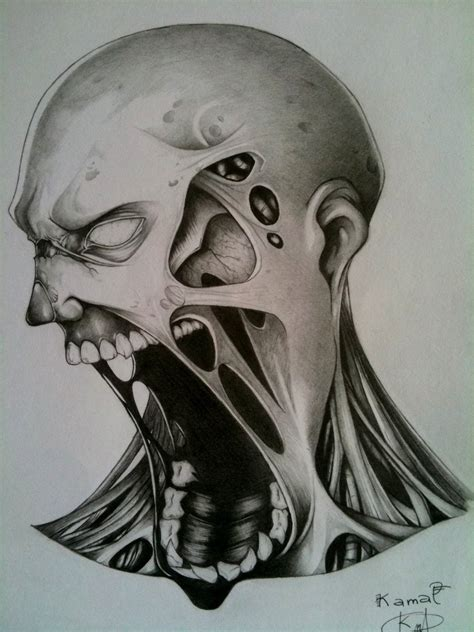 Drawing Zombies by Pin Drawing Jmg Creations On