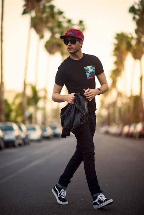 24 edgy summer with vans sneakers styleoholic