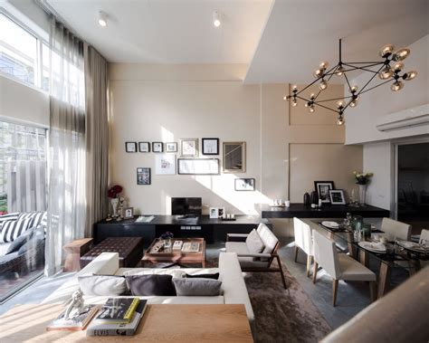 modern living spaces modern townhome living space 1 interior design ideas
