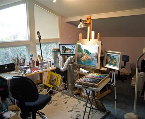 studio painting process timonsloane