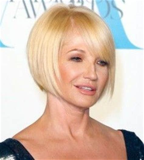 ellen barkin hair back view pictures of bob hairstyles for women over 50 short hair