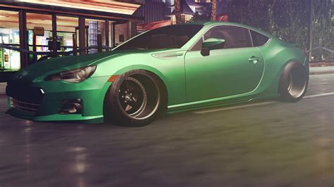 subaru brz slammed subaru brz slammed by maschmalon need for speed