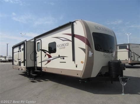 forest river rockwood 8328 bs rvs for sale 2017 forest river rv rockwood signature ultra lite 8328bs