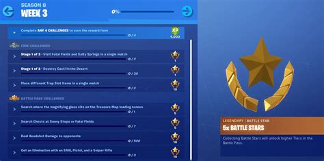 fortnite week 3 challenges fortnite season 8 week 3 challenges now available